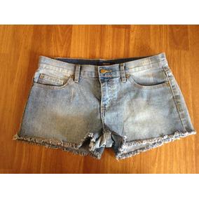 Short Jeans Mezclilla Celeste Forever 21 T/38-40