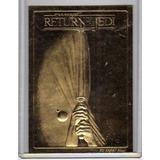 Carta Edi. Limitada - Baño Oro 23 Kts - El Retorno Del Jedi