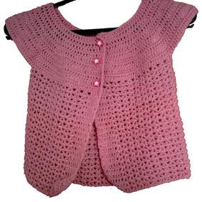 Chalecos Para Niña En Crochet!!