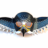 Máscara Halcón Peregrino Animal Pájaros Antifaz Aves Águila