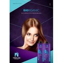 Kit Liso Natural Biorganic Sem Formol 2 X 1litro - Tree Liss