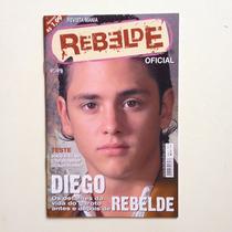 Revista Mania Rebelde Oficial Teste Diego Nº04