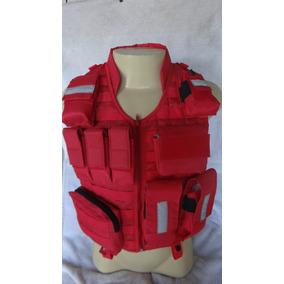 Colete Modular P/ Bombeiros Com Bolsos - Spider Tático
