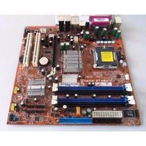 Kit Placa Mãe + Processador Core2 E7500 2.93 Melhor Que I3
