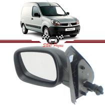 Retrovisor Renault Kangoo 2003 2004 2005 06 07 08 Manual L.e