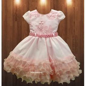 Vestido De Festa Princesa Realeza Bailarina E Tiara