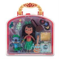 Set Muñeca Lilo Stitch Animators Mini Disney Store 2016