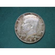 Moneda Half Dollar 1967, Estados Unidos, Km# 202.a De Plata