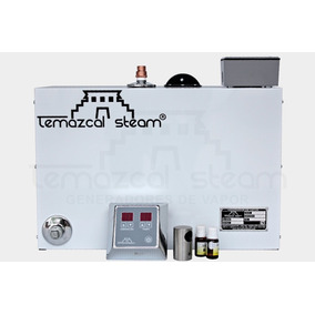 Generador De Vapor 36m3 Control Digital Deluxe Baño Sauna