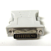 Dvi-i 24+5 Pin Macho A Vga Hembra Adaptador Convertidor
