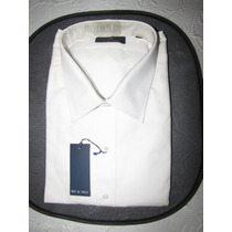 Camisa Blanco Ratier - Talle 50 - Big & Tall - Imperdible