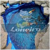 Lona Lago Tanque Criação De Peixes Manta Psicultura 8 X 5 Mt