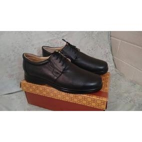 Zapato Piel Pie Diabetico Num 29 Muy Amplio Equivale A 30 Mx