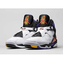 Tênis Nike Air Jordan 8 Retrô De Basquete Promoção Ultima Pe