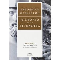 Historia De La Filosofía 4 Vol. Frederick Copleston Ariel