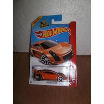 Hot Wheels Mastretta Mxr Naranja 160/250 2014