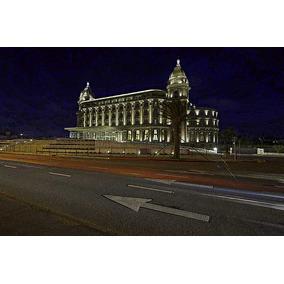 Vista Noctura Del Nuevo Hotel Carrasco - Lámina 45 X 30 Cm.