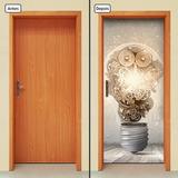 Adesivo Decorativo De Porta - Idéa - Criatividade - 236mlpt