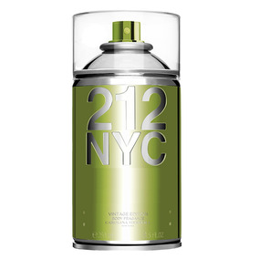 212 Nyc Vintage Body Spray Feminino Carolina Herrera 250ml