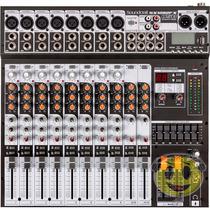 Mesa Som Soundcraft Sx1202fx 12 Canais Usb Efeitos -kadu Som