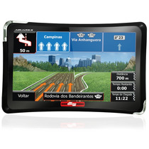 Gps Automotivo Guia Quatro Rodas 4,3 Polegadas Tv Mp4 Touch