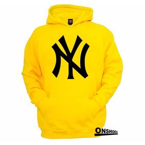 Blusa Moleton New York Yankees Ny 100% Algodão