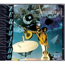 Zé Ramalho - Ópus Visionário - Cd Lacrado Do Box - 2 Bonus