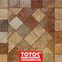 Ceramica De Patio Angelo Tostado 45x45 Totos Ceramicos