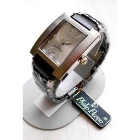 Reloj Philip Persio Caballero Modelo Romano Contra Agua.