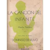 Cancion Del Infante De Ruvo Partitura Y Letra Piano N° 6