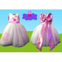 Vestido Para Fiesta Personalizado Peppa Pig Presentacion