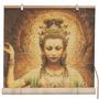 Muebles Orientales Kwan Yin Con Lotus Persianas De Bambú -
