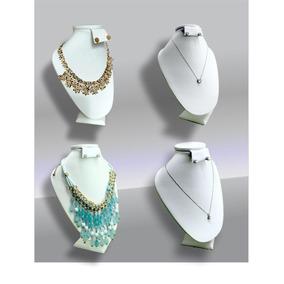 Exhibidor Para Collar Y Joyeria Blanco