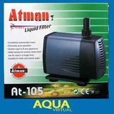 Bomba De Agua Atman At 105 2100 L/h Eleva 2.6m Cascadas Feng