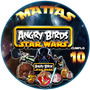 Candy Bar Angry Birds Starwars Kit Imprimible Fiesta!