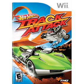 Game Wii Hot Wheels Track Attack Jogo Lacrado