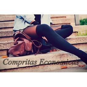 Calcetas Media Extralargas Over Knee Retro Vintage