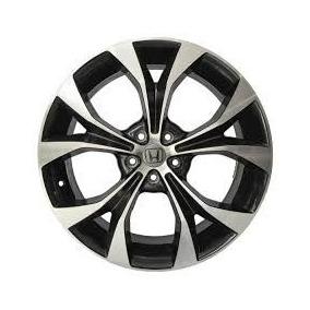 Roda Honda Civic Lxr Aro 17 Preta Diamantada+bicos