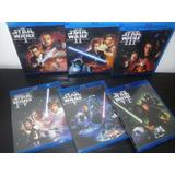 Star Wars - La Guerra De Las Galaxias - Colección En Blu-ray