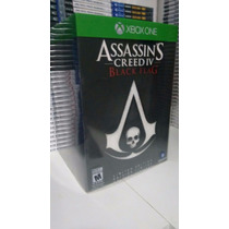Assassins Creed 4 Iv Black Flag Xbox One Limited Português