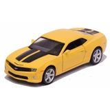 Miniatura Chevrolet Camaro Ss 2010 Amarelo 1/32- Barato!!!
