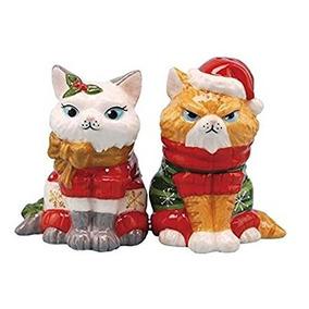 Westland Artículos De Regalo De Navidad Gatos De Sal De Cer