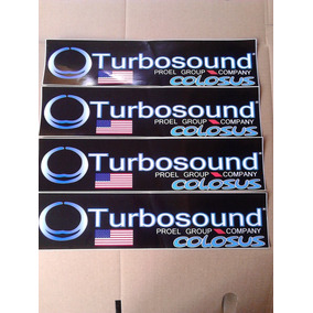Calcomania Para Cajas Turbosound Cerwin Vega Rcf