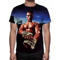 Camisa, Camiseta Jean Claude Van Damme - Estampa Total
