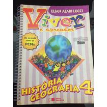 Livro Viver Aprender Historia Geografia 4 + Manual Professor