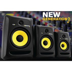 Monitor Ativo Krk Rokit Rp8 G3 - Par/novo E Na Caixa