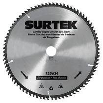 Disco Para Sierra Circular P/aluminio 10 In 80 Dien Surtek