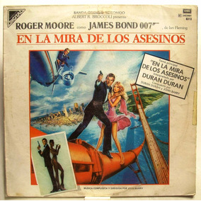 Lp - James Bond En La Mira De Los Asesinos - Duran Duran
