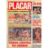Placar Nº 1012 - 3.11.89 - Pôster Vitória Da Bahia / Escudos