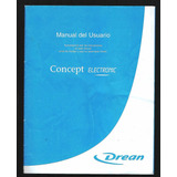* Manual Usuario Lavarropas Dream Electronic 19 Pag